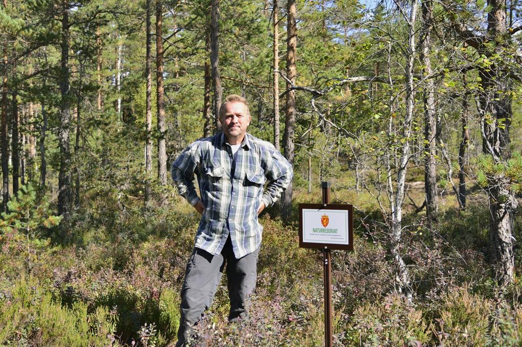 Gaupesteinmarka naturreservat SKM